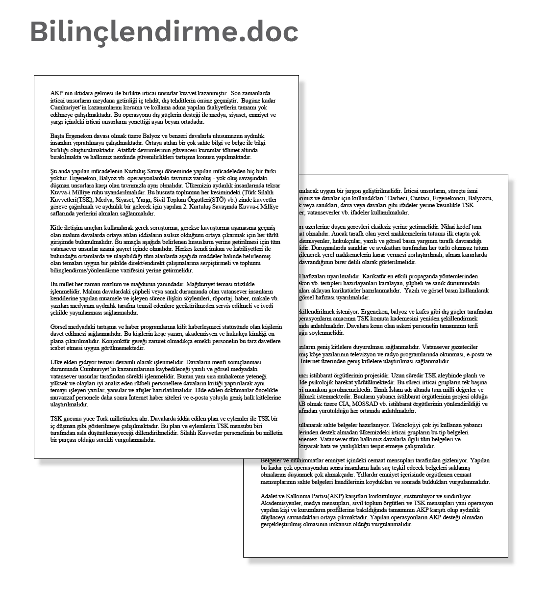 Document 1: Bilinçlendirme.doc