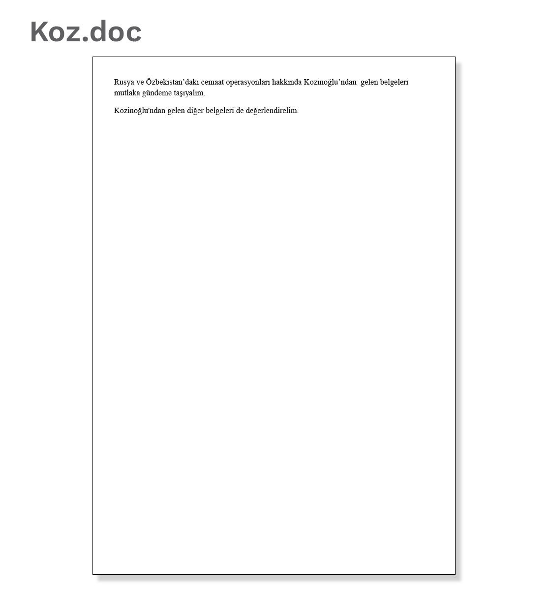 Document 3: Koz.doc