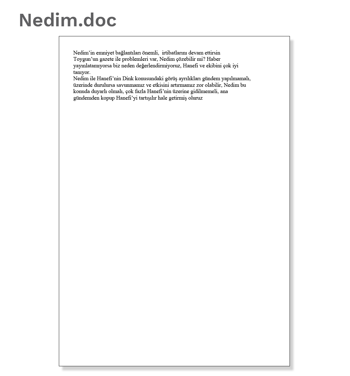 Document 4: Nedim.doc
