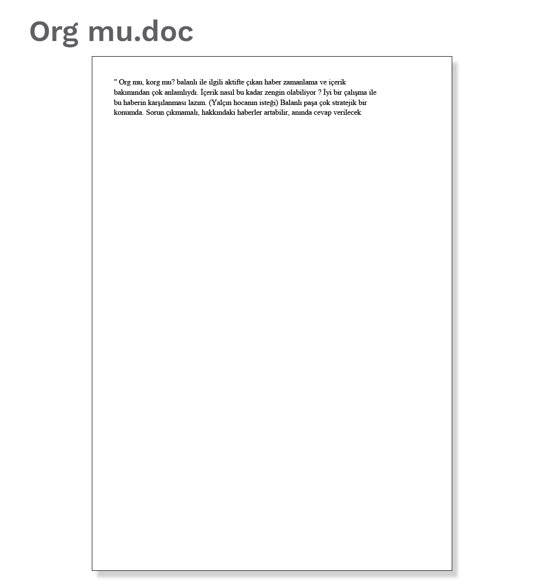 Document 5: Org mu.doc