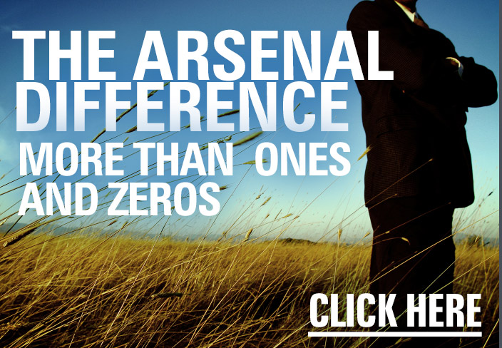 The Arsenal Difference: more than ones and zeros